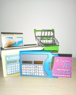 Calculadora y Porta Tarjetas